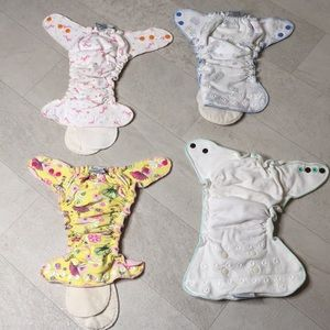 Muttaqin Bay Fitted Cloth Diapers Bundle Lot 4